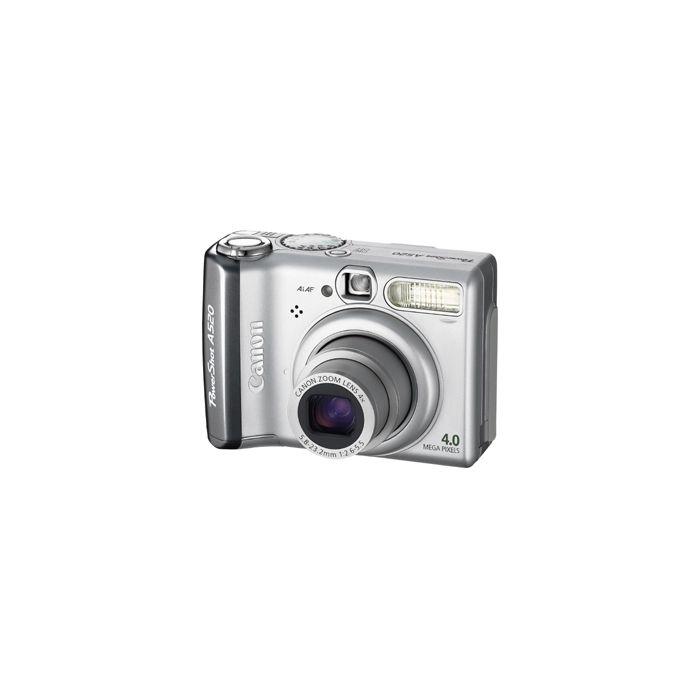 Canon Powershot A520 Digital Camera {4MP}