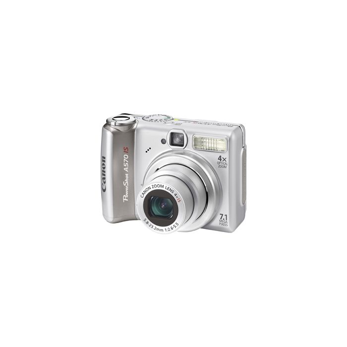 Canon Powershot A570 IS Digital Camera {7.1MP}
