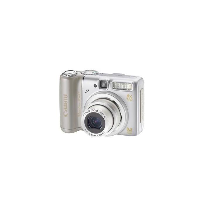 Canon Powershot A580 Digital Camera {8MP}