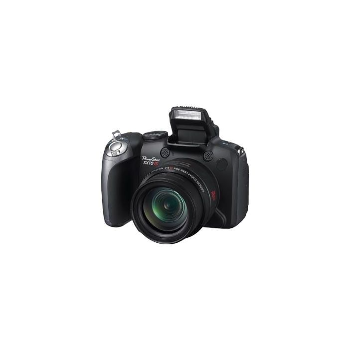 Canon Powershot SX10 IS Digital Camera, Black {10 M/P}