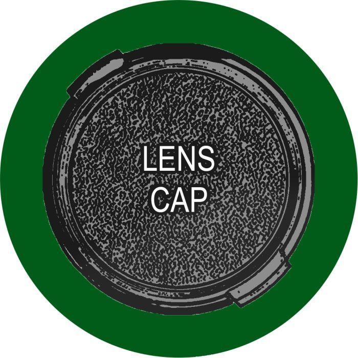 Nikon 1 LC-N40.5 Front Lens Cap, Black
