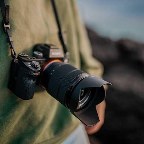 Sony full frame mirrorless camera